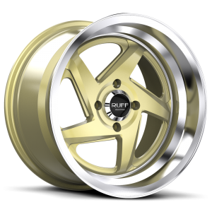 ruff_racing_r368_gold_chrome rivets_machined_lip